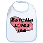 estella loves me  Bib