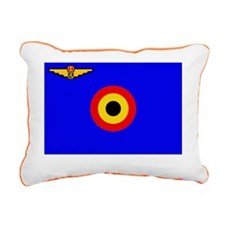 Belgian Air Force Ensign Rectangular Canvas Pillow