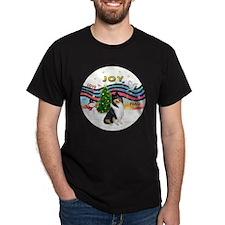 XMusic1-Tri3 Collie T-Shirt
