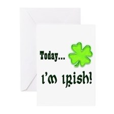 Today I'm irish Greeting Cards (Pk of 10)