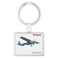 Pilot Landscape Keychain