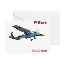 Pilot Greeting Card