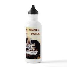 Vintage Chick Absinthe Water Bottle