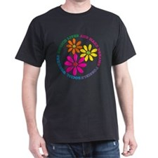 SOCIAL WORKER CIRCLE DAISIES T-Shirt