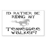 Rather-Tennessee Walker Rectangle Decal