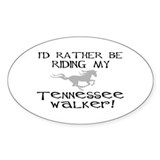 Rather-Tennessee Walker Oval Decal