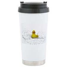 Rubber Duck Spray Ceramic Travel Mug