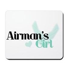 Airman's Girl Mousepad