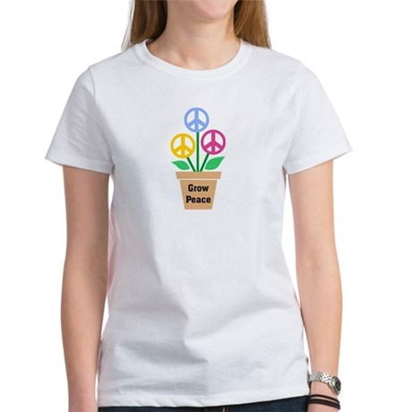 Grow Peace 2 Women's T-Shirt