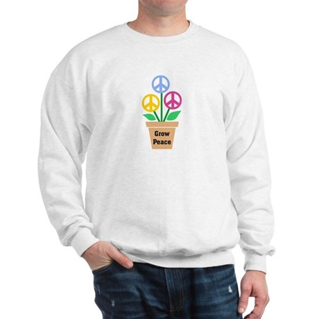 Grow Peace 2 Men's Sweatshirt