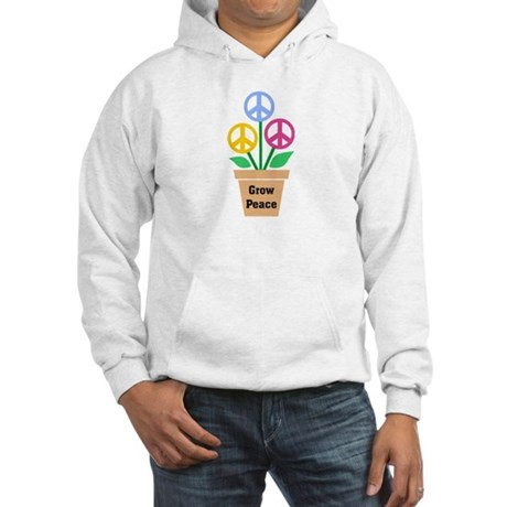 Grow Peace 2 Men's Hooded Sweatshirt