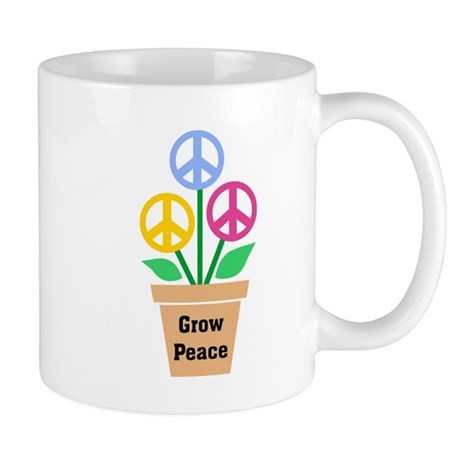 Grow Peace 2 Coffee Mug