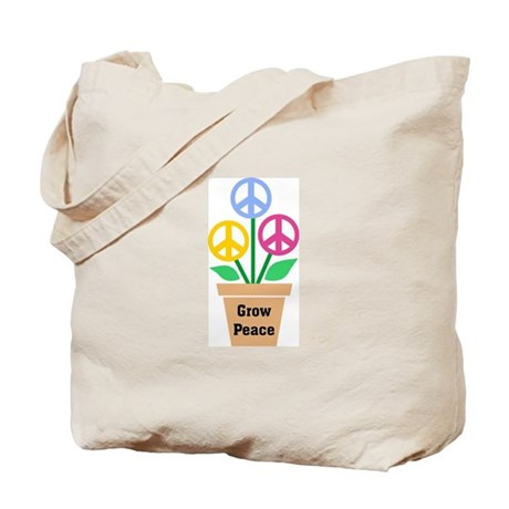 Grow Peace 2 Tote Bag