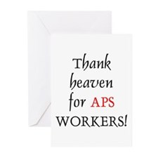 Thank Heaven APS BRT Greeting Cards (Pk of 10)