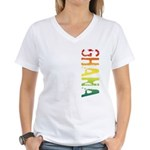 Ghana Women's V-Neck T-Shirt