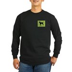 Bleu iPet Long Sleeve Dark T-Shirt