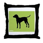 Bleu iPet Throw Pillow