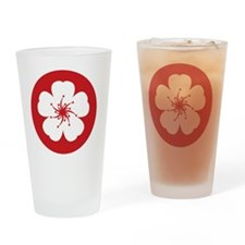 front logo Drinking Glass