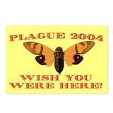 Postcards (Package of 8) - Cicada plague