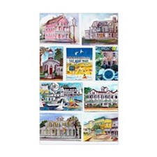 cover of cape may houses Decal