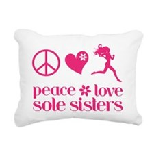 PLSS pink Rectangular Canvas Pillow