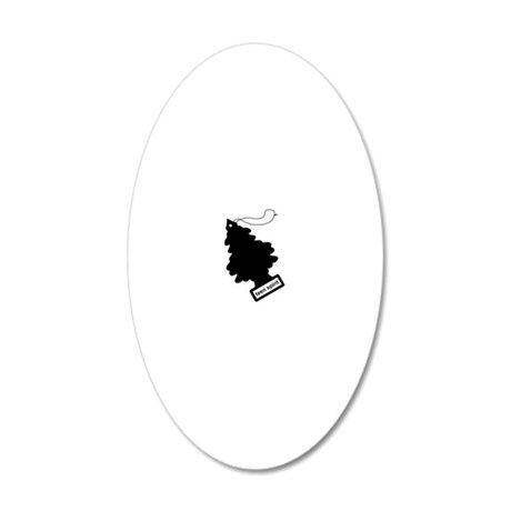 teen spirit 20x12 Oval Wall Decal