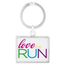 Love the Run Landscape Keychain
