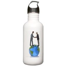 Two miniature figure b Water Bottle