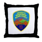 Marin Sheriff Throw Pillow