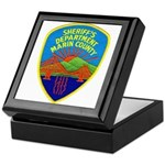 Marin Sheriff Keepsake Box
