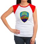 Marin Sheriff Women's Cap Sleeve T-Shirt