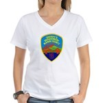 Marin Sheriff Women's V-Neck T-Shirt