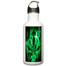 SmkGrnTall3 Sports Water Bottle