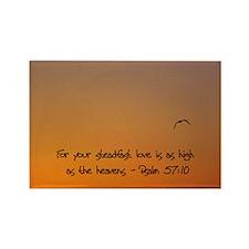 Funny Love art Rectangle Magnet (10 pack)