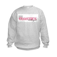 Coastie's Little Girl Sweatshirt