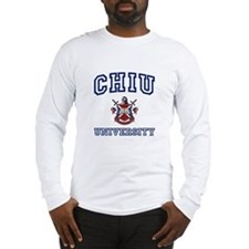 CHIU University Long Sleeve T-Shirt