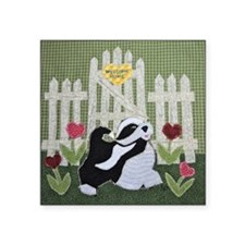 """A Heart Felt Welcome by Ter Square Sticker 3"""" x 3"""""""