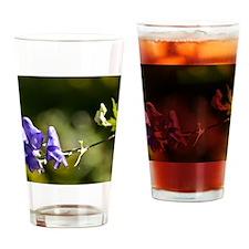 a flower Drinking Glass