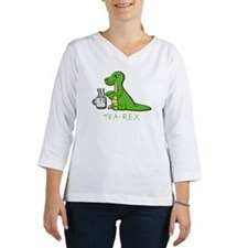Tea-Rex Women's Long Sleeve Shirt (3/4 Sleeve)