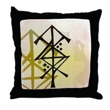 Victory Bindrune Throw Pillow