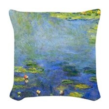Monet Woven Throw Pillow