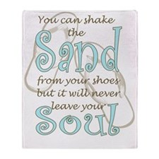 Soul Sand Throw Blanket