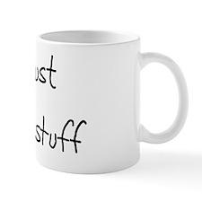 I Just Make Stuff small hat Mug