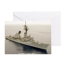 nc uss henry b wilson note card Greeting Card