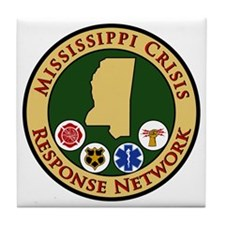 MS Crisis Response Network Tile Coaster