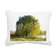 Blowing in the wind Rectangular Canvas Pillow