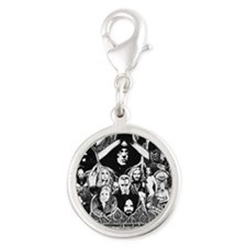 The Wicked All Stars Silver Round Charm