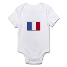 France - French Flag Infant Bodysuit