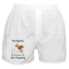 JRBarHoppingRR Boxer Shorts