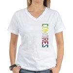 Comores Women's V-Neck T-Shirt